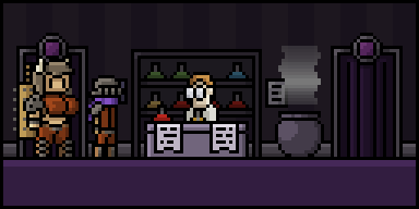 Try the potion shop